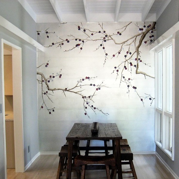 Easy Wall Mural Ideas Part - 16: Easy Wall Art Ideas To Decorate Your Home (15)