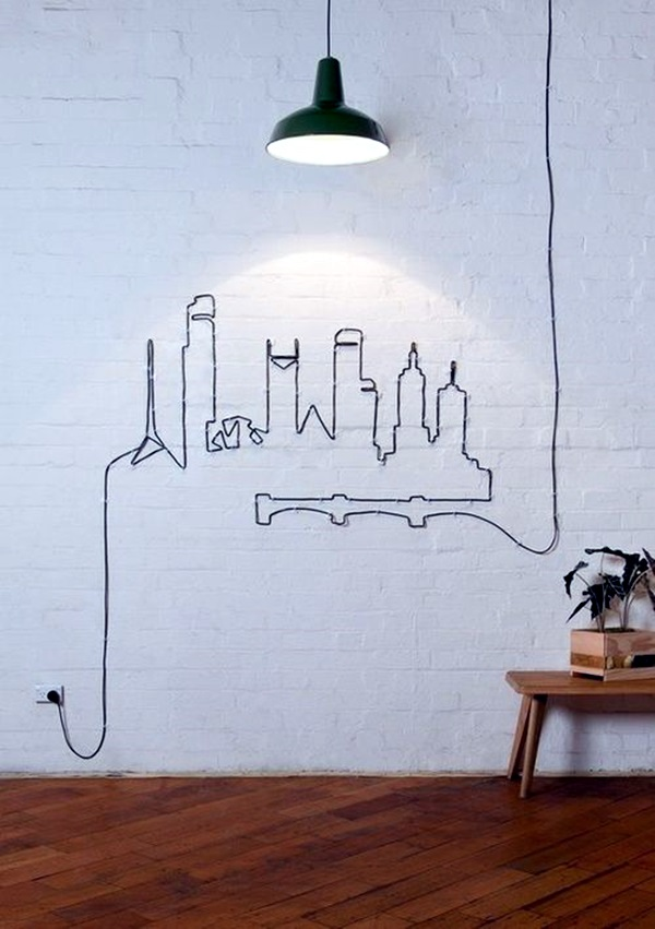 Merveilleux Easy Wall Art Ideas To Decorate Your Home (27)