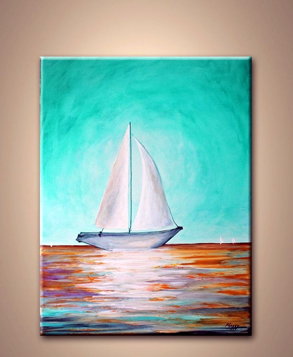 30 more canvas painting ideas for How to make canvas painting