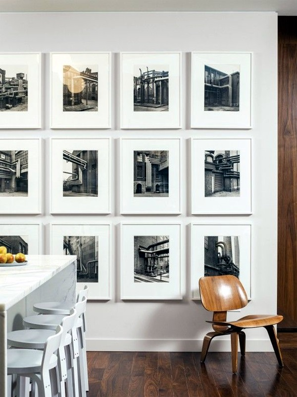40 Unique Wall Photo Display Ideas For You on Creative Wall  id=36414