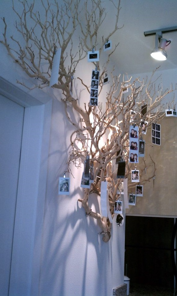 40 Unique Wall Photo Display Ideas For You on Creative Wall Ideas  id=99967