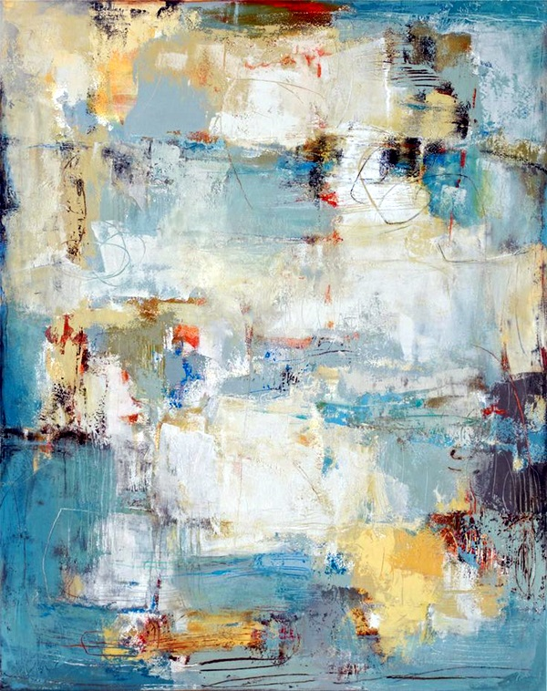Encaustic Painting With Oil Sticks
