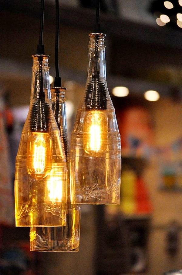 Bottle Lamp Ideas