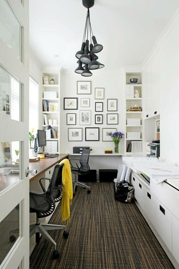 Home Office Room Design: 40 Creative Small Room Decoration Ideas To Make It Work