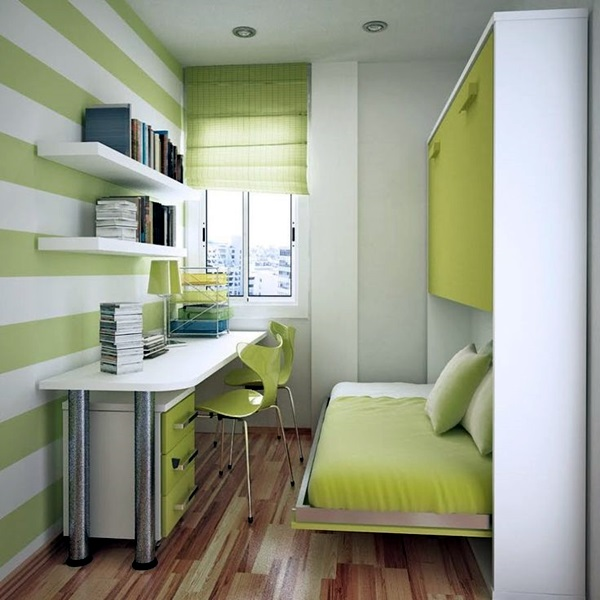 Small Room Decoration Ideas To Make It Work For You (35)