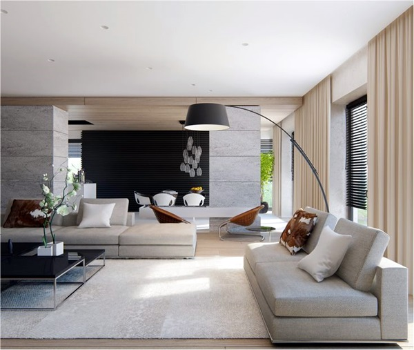 Living Room Design Concepts Enchanting Stunningmodernlivingroomdesigns9 600×507  Idées Pour Design Decoration