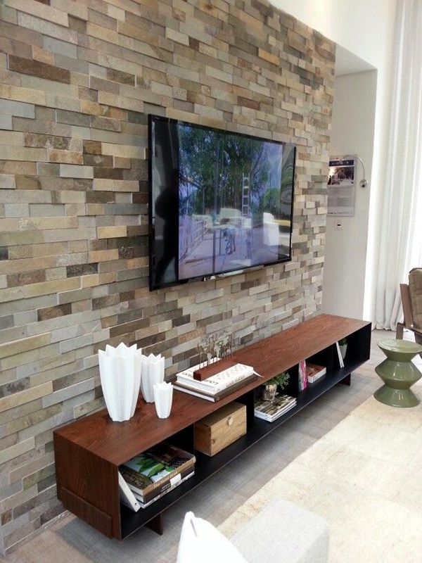 Wall Tv Unit Design Tv Unit: 40 Unique TV Wall Unit Setup Ideas