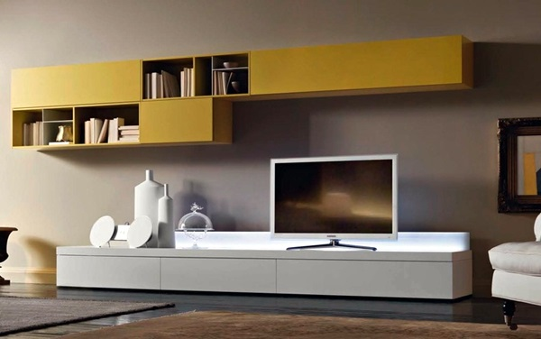 Unique Tv Wall Unit Setup Ideas 7