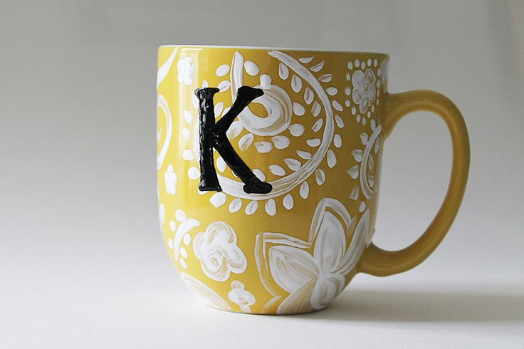 Colorful coffee mug ideas to choose from bored art for Coffee painting designs