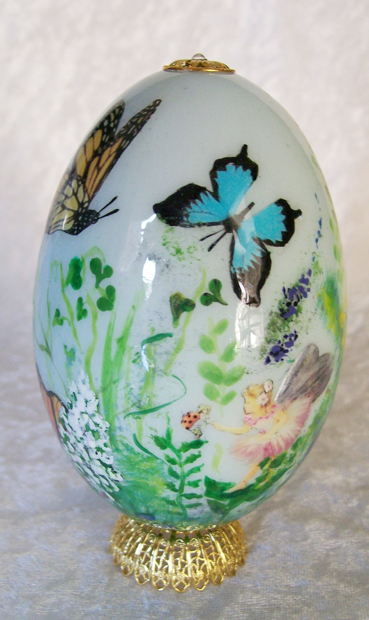 Egg Art Extremely Simple Delicate And Enchanting