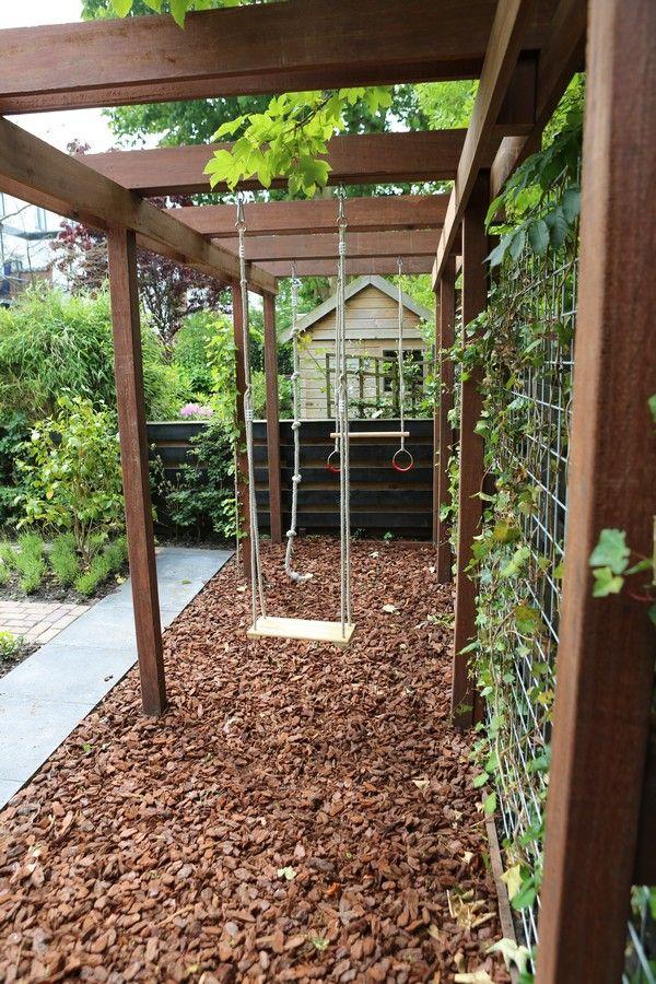 Garden Swing Ideas 18