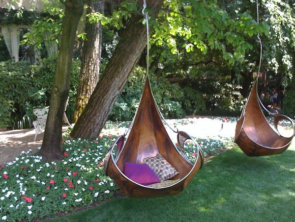 Garden Swing Ideas 42