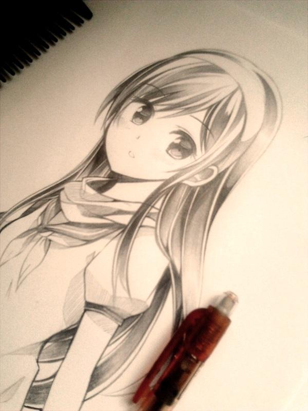 Amazing Anime Drawings And Manga Faces 3 Jpg 600 800 Anime Sketch Anime Art Anime Drawings
