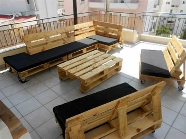 Amazing DIY pallet furniture Ideas (2)