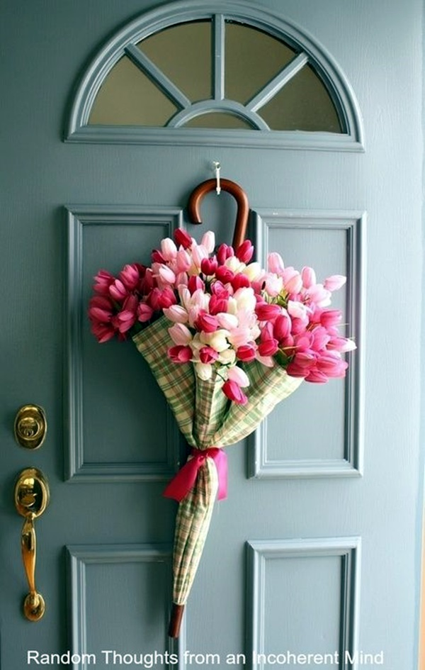 Creative Ways To Decorate Your House With Flowers 36