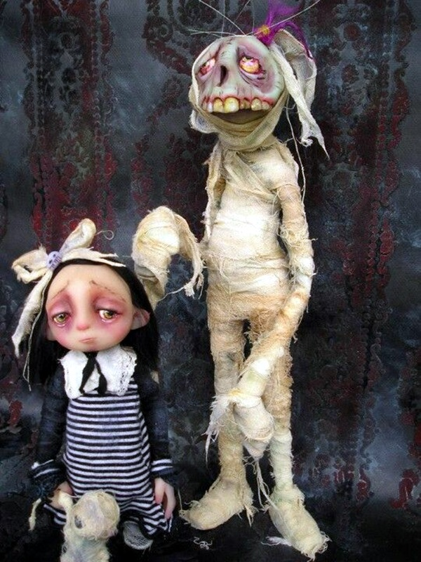 40 Disturbing Doll Art Crafts Which Will Stay In Your