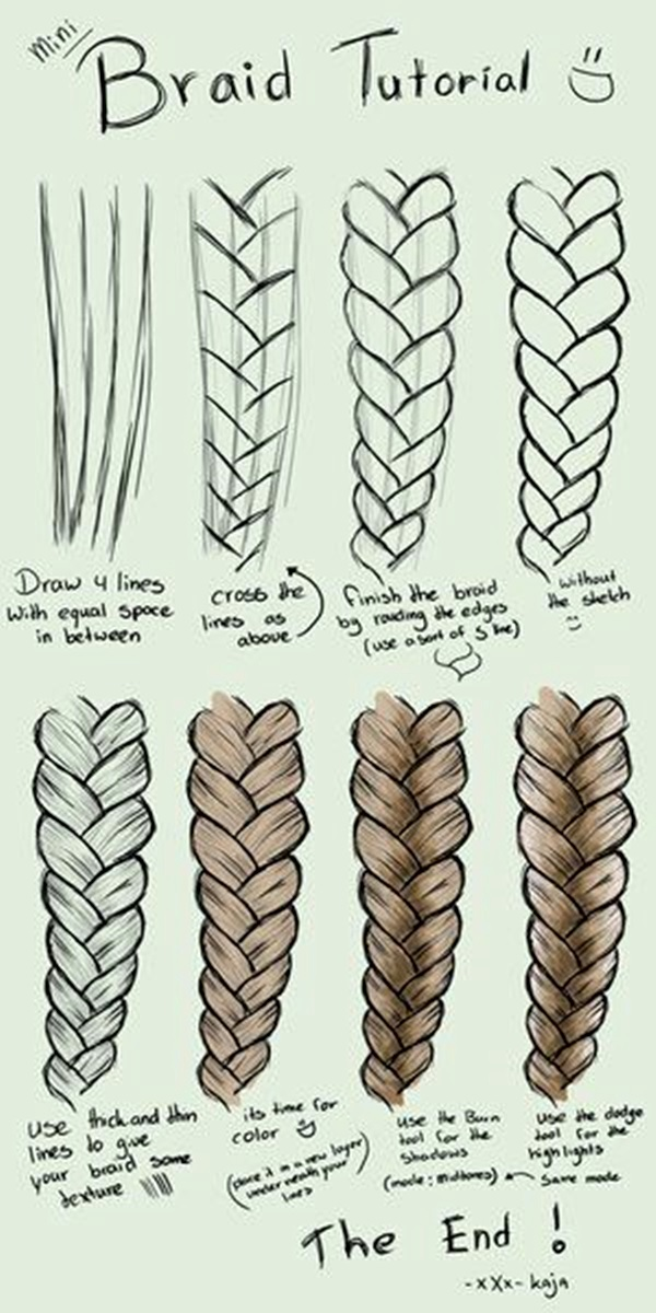 95 Easy Drawing Ideas For Girls Step By Step Step 5 For The Last