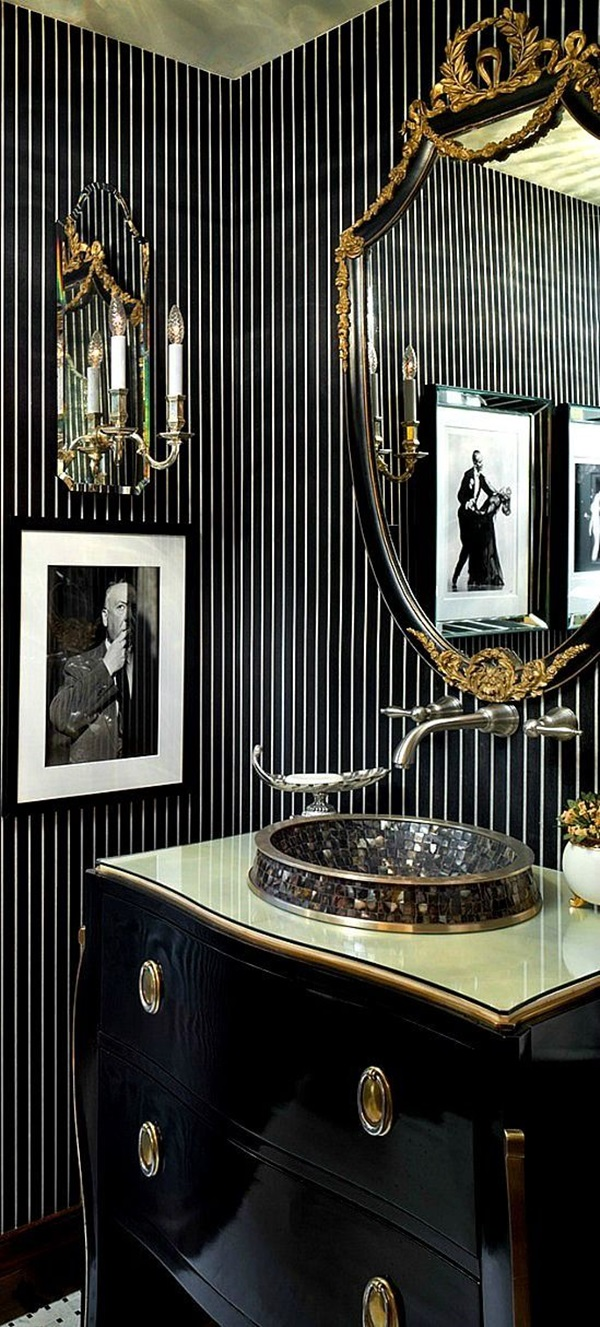 40 Luxury High End Style Bathroom Designs - Bored Art