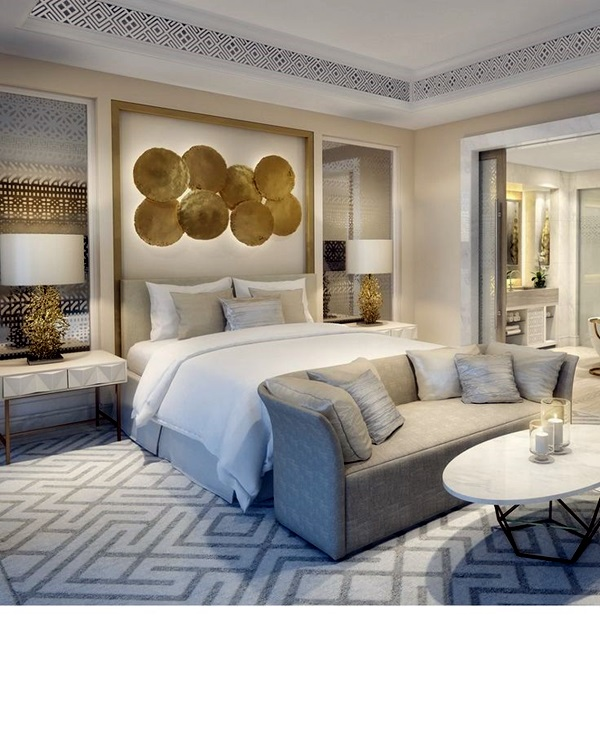 40 simple guest room decoration ideas bored art for Hotel room decor