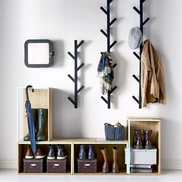 40 Cool And Creative DIY Coat Rack Ideas Bored Art Enchanting Making A Coat Rack