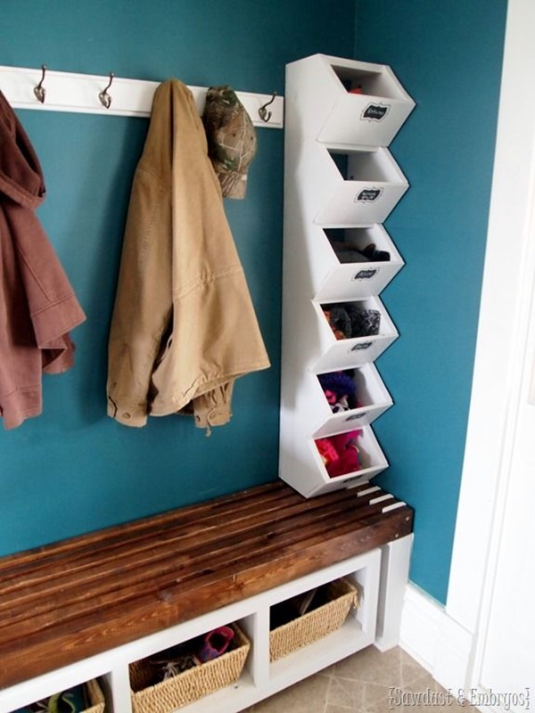 40 cool and creative diy coat rack ideas bored art for Diy standing coat rack ideas