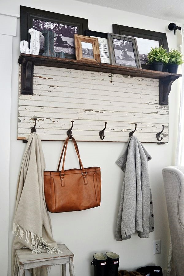 Cool And Creative DIY Coat Rack Ideas (19)