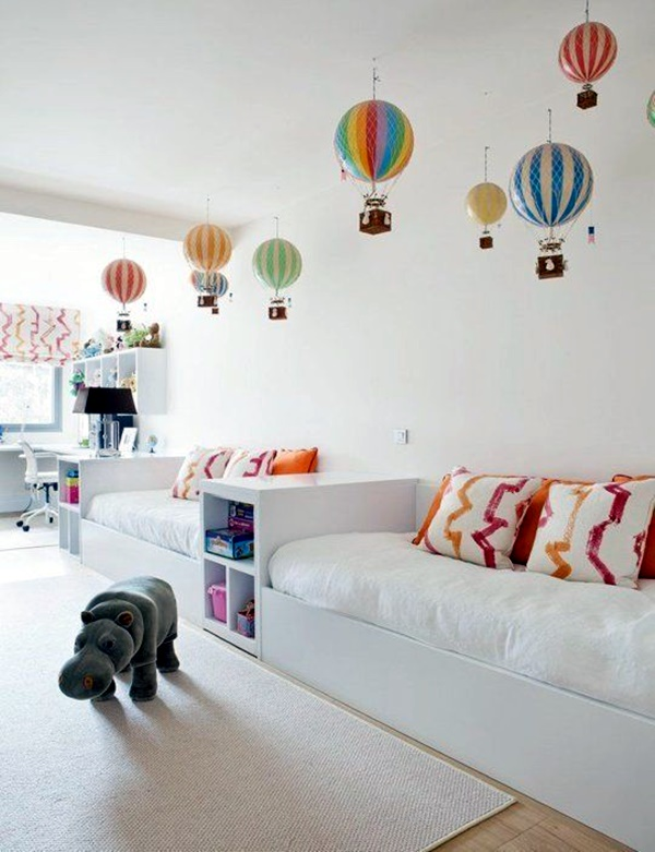 30 Ideas For Your Kid's Dream Bedroom - Bored Art