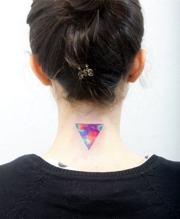 40 small and sexy neck tattoos for 2016 bored art for Back of neck tattoos small