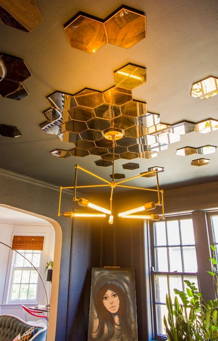 Concrete And Creative Ceiling Art To Conquer Your Senses