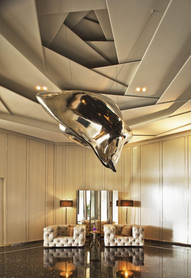 Creative ceiling for Artwork for high ceilings