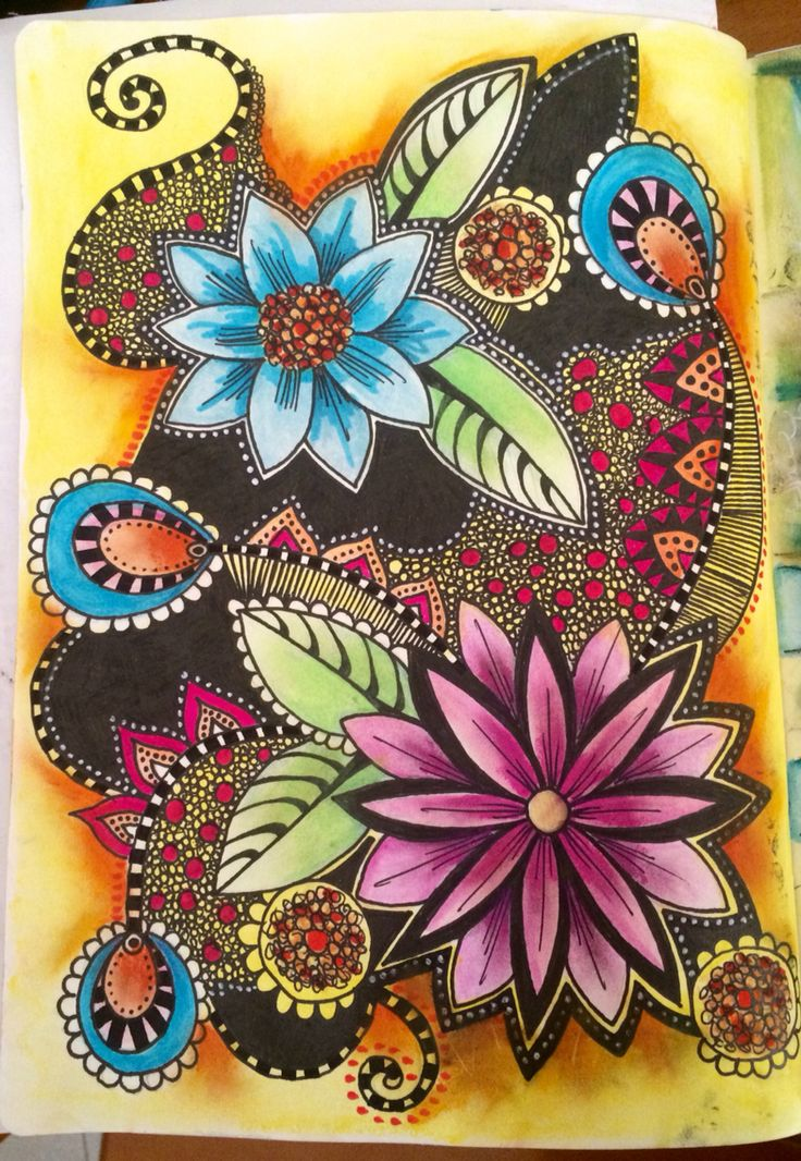 The incidental art of doodling and why it is so for Art and craft drawing and painting