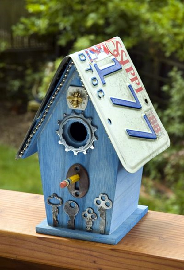 Beautiful Bird House Designs You Will Fall in Love with (1)