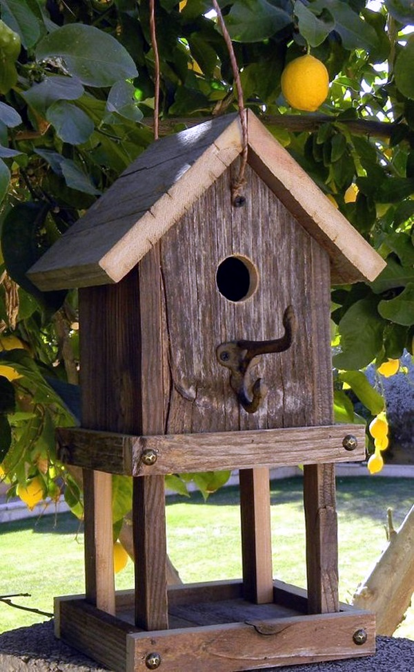 Beautiful Bird House Designs You Will Fall in Love with (11)