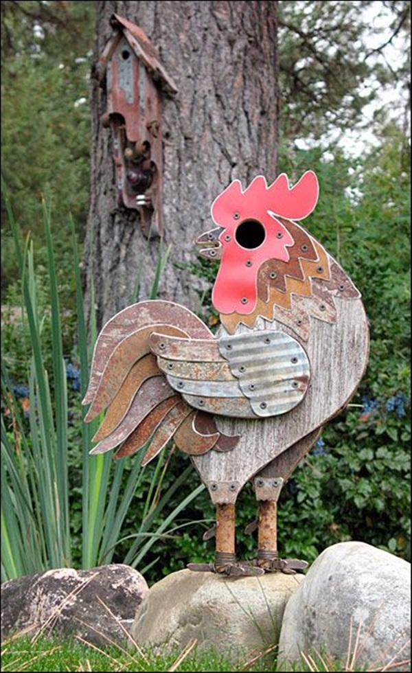 Beautiful Bird House Designs You Will Fall in Love with (12)
