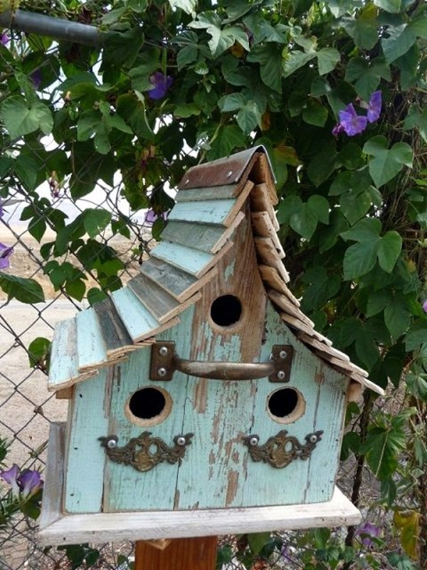 Beautiful Bird House Designs You Will Fall in Love with (14)