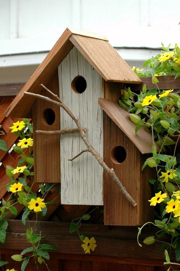 40 beautiful bird house designs you will fall in love with for Love home designs