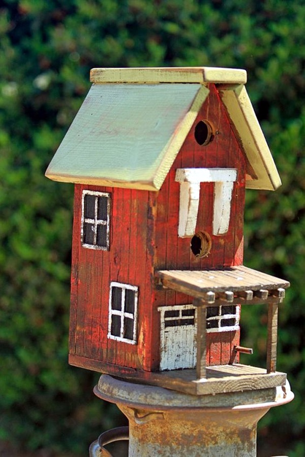 Beautiful Bird House Designs You Will Fall in Love with (19)