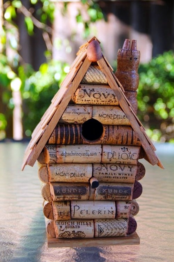 Beautiful Bird House Designs You Will Fall in Love with (21)