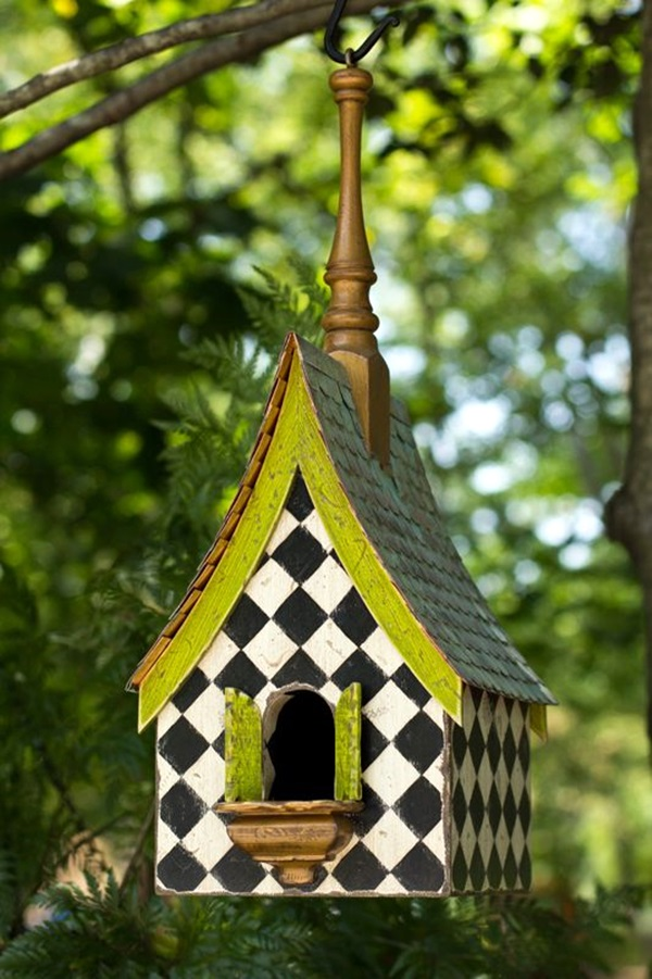 Beautiful-Bird-House-Designs-You-Will-Fall-in--with-22 Painted Birdhouses Designs on painted snowman designs, painted elephants designs, painted bird feeders designs, painted chairs designs, painted furniture designs, hand painted needlepoint designs, painted glassware designs, painted bowl designs, painted mugs designs, painted halloween designs, painted ornaments designs, painted bird houses, painted houses designs, painted frames designs, painted glass designs, painted floor designs, painted church birdhouse, painted pottery designs, painted tables designs, painted flowers designs,