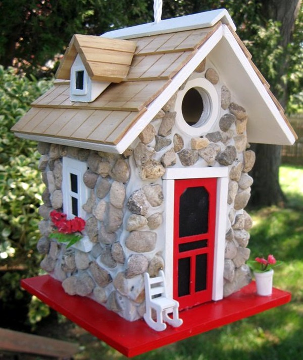 Beautiful-Bird-House-Designs-You-Will-Fall-in--with-26 Painted Bird Houses Designs Ideas on home office design ideas, painted bird house craft, painted wood bird house, painted bird house with cat, computer nerd gift ideas, painted wood craft ideas, painted dresser ideas, pet cool house ideas, painted furniture, painted red and white bird, painted owl bird house, jewelry designs ideas, painted bird house roof, painted decorative bird houses designs, painted gingerbread house craft,