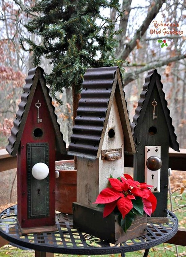 Beautiful Bird House Designs You Will Fall in Love with (29)