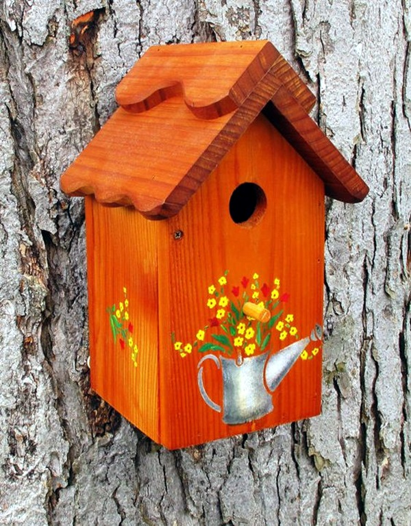 Beautiful-Bird-House-Designs-You-Will-Fall-in--with-31 Painted Bird Houses Designs Ideas on home office design ideas, painted bird house craft, painted wood bird house, painted bird house with cat, computer nerd gift ideas, painted wood craft ideas, painted dresser ideas, pet cool house ideas, painted furniture, painted red and white bird, painted owl bird house, jewelry designs ideas, painted bird house roof, painted decorative bird houses designs, painted gingerbread house craft,