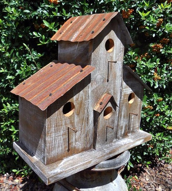 Exceptional Birdhouse Designs Part - 6: Beautiful-Bird-House-Designs-You-Will-Fall-in-Love-with-32.jpg (600×667) |  Rustic Birdhouses | Pinterest | Bird Houses, Birdhouse And Bird