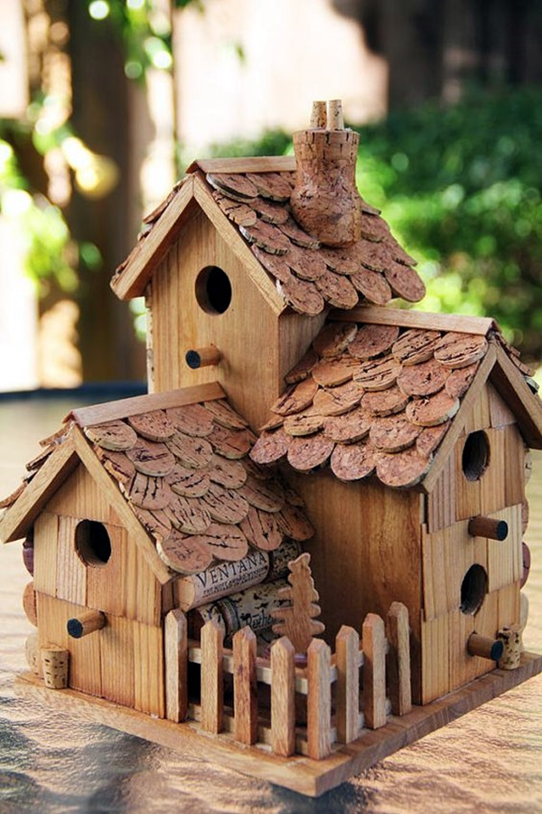 Beautiful Bird House Designs You Will Fall in Love with (34)