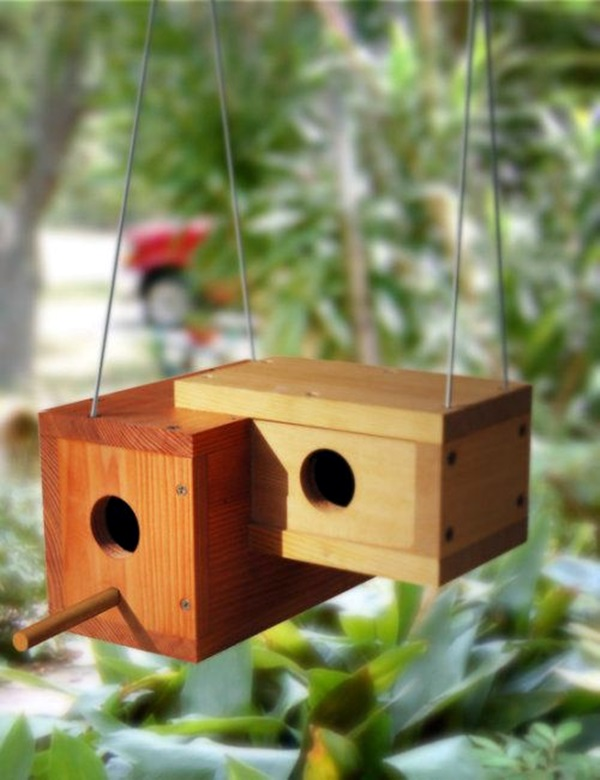 Beautiful Bird House Designs You Will Fall in Love with (36)