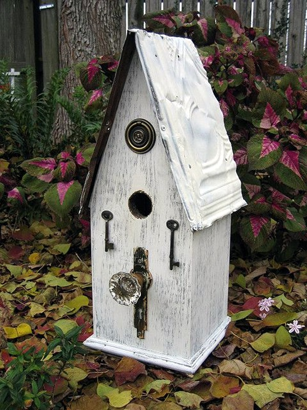 Beautiful Bird House Designs You Will Fall in Love with (37)