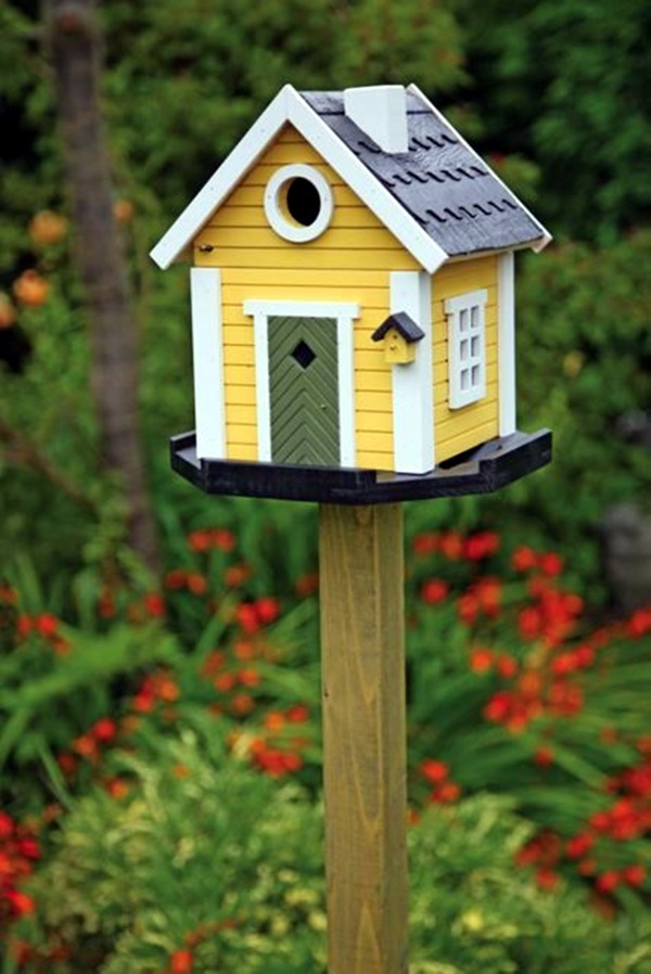 Beautiful Bird House Designs You Will Fall in Love with 42