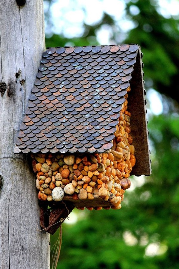 Beautiful Bird House Designs You Will Fall in Love with (45)