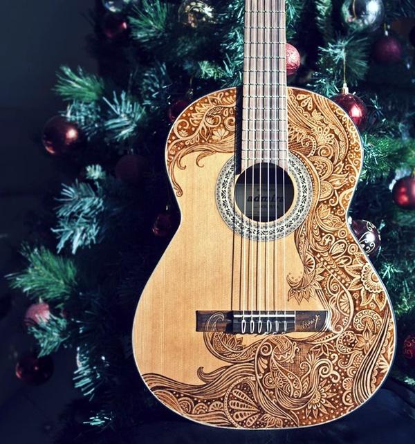 Beautiful and Creative Guitar Artworks (11)