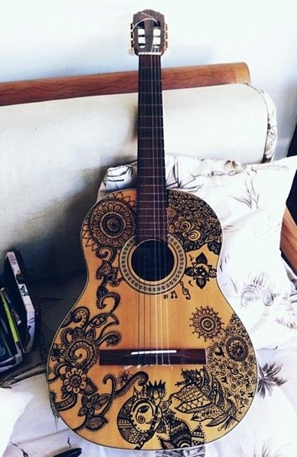 Beautiful and Creative Guitar Artworks (12)
